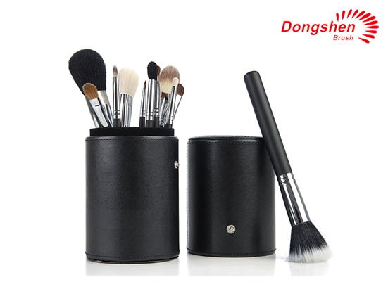 Hot selling natural hair 12pcs Brush Set with holder