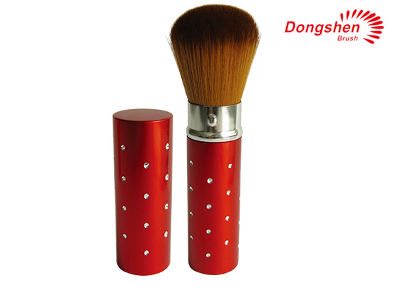 New Fashional metal retractable powder Brush