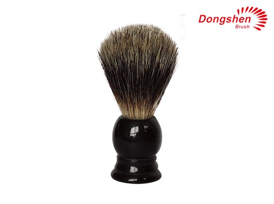 Black Resin Handle&Black Badger Hair Shaving Brush