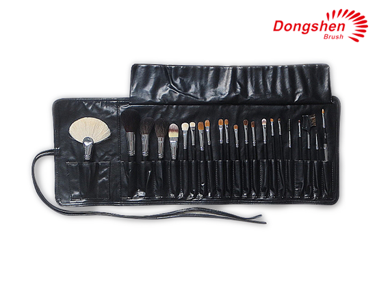 Professional natural hair wooden 22pcs Brush Set