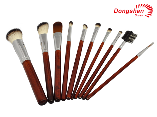 Personalized 10pcs Cosmetic Brush Set