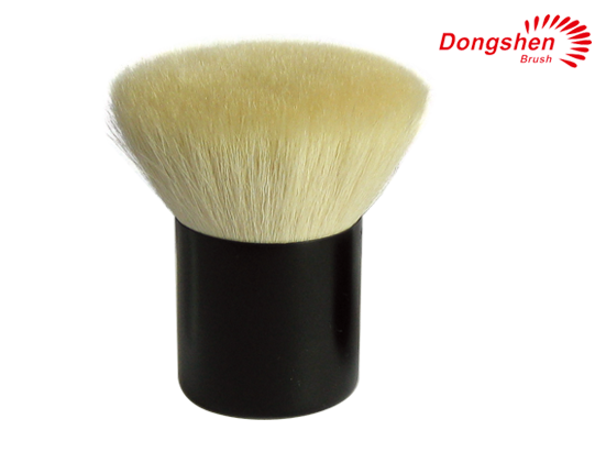 Goat hair flat top Kabuki Brush