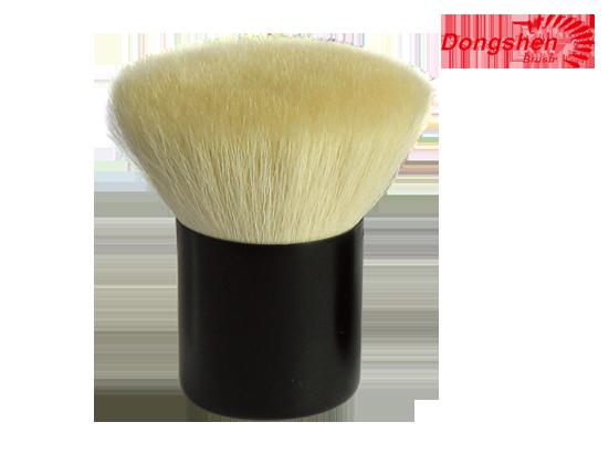 Goat hair flat top Kabuki Brush