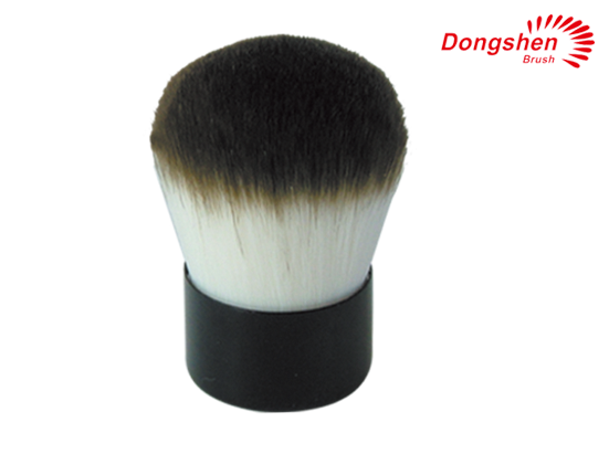 Synthetic hair kubuki brushes