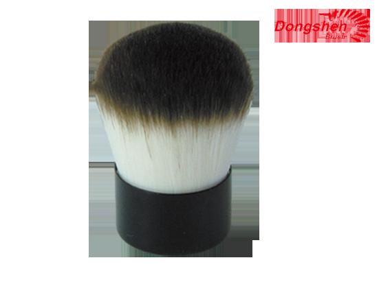 Synthetic hair kubuki brushes