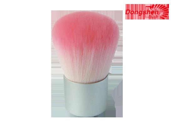 Pink hair Kabuki Brush