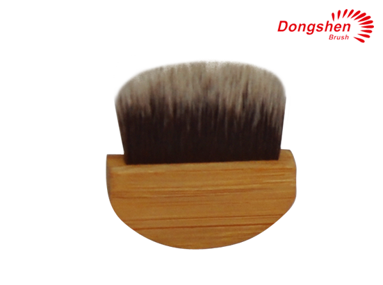 Synthetic hair compact Blusher Brush