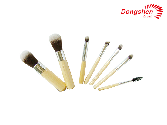 Bamboo handle 7pcs Makeup Brush Set
