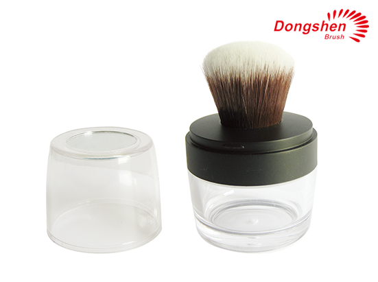 Hight Quality Jar Brush Plastic Container
