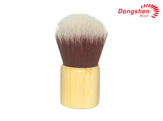 Synthetic hair bamboo handle Kabuki Brush