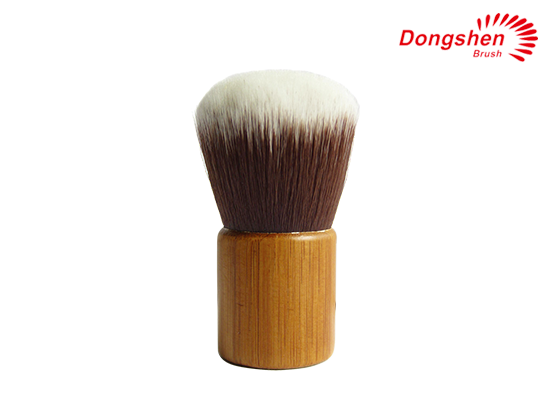 Bamboo Handle synthetic hair Kabuki Brush
