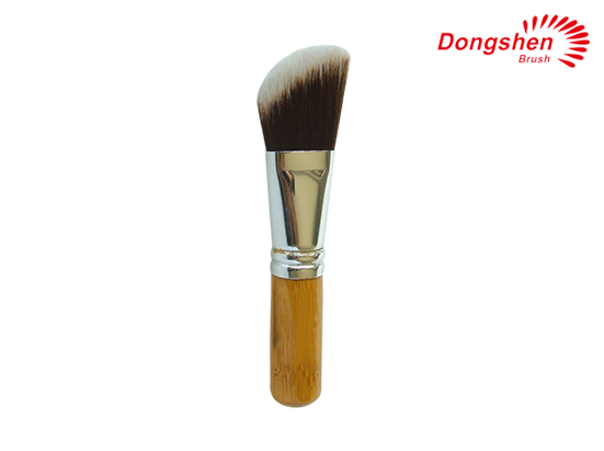 Synthetic hair blush brush makeup brush