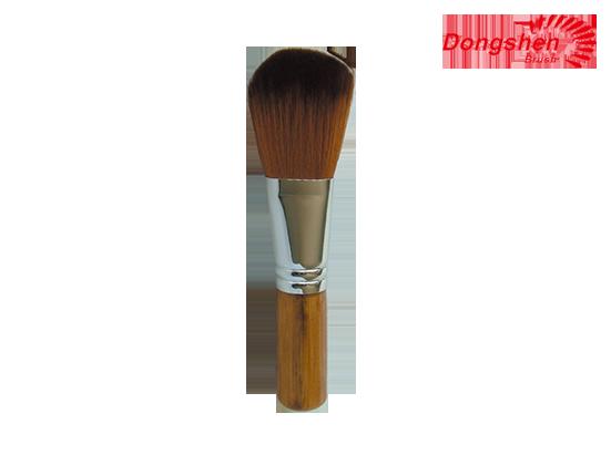 Synthetic hair bamboo handle Blusher Brush