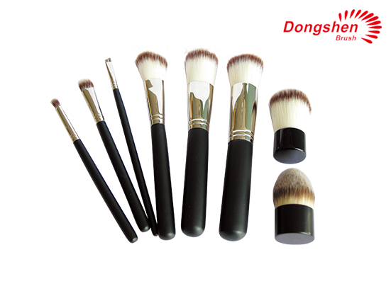 Synthetic hair 8pcs Cosemtic Brush Set