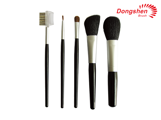 Professional Natural hair 5pcs Travel Brush Set