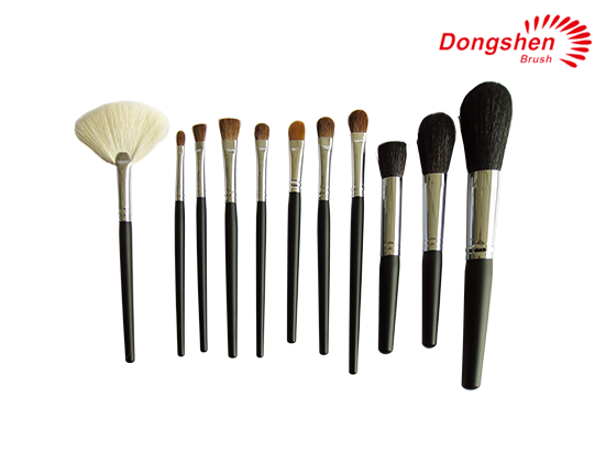 Top quality animal hair Makeup Brush Set