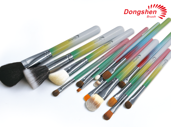 Professinal Natural hair Makeup Brush Set