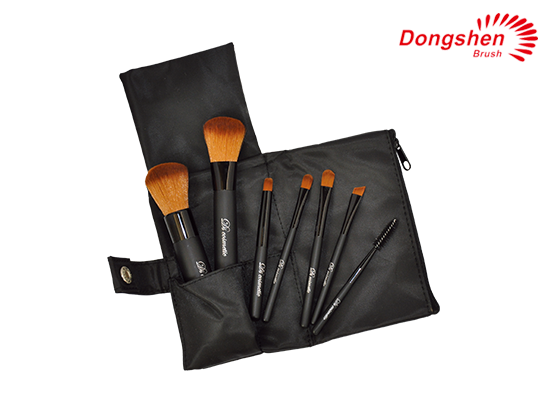 Privata label 7pcs Travel Brush Set