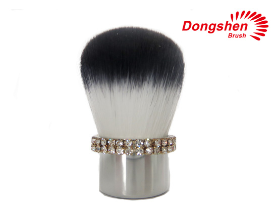 Fashion diamond kabuki brushes