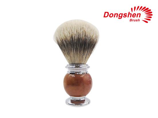 High Quality Stone&Metal Silvertip Badger Hair Shaving Brush