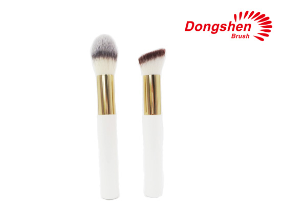 Synthetic Hair Foundation and Powder Brush