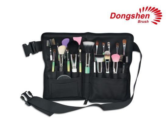 Makeup brush belt cosmetic bags