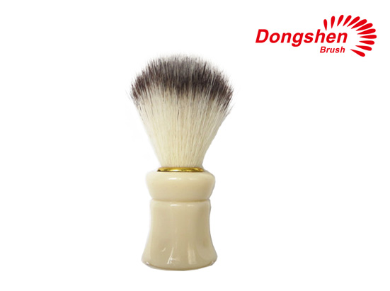 Synthetic Hair&Plastic Handle Shaving Brush