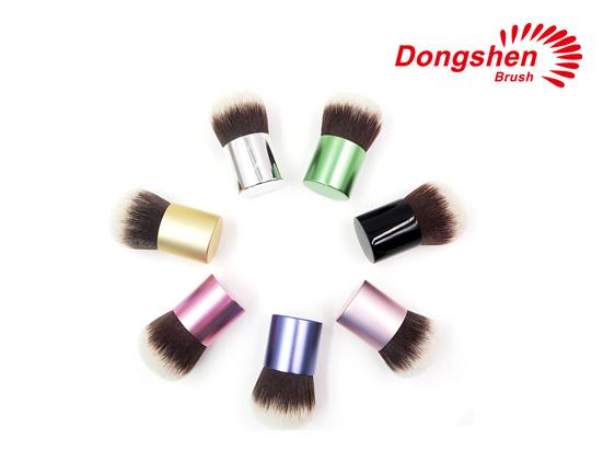 Synthetic hair custom logo kabuki brushes