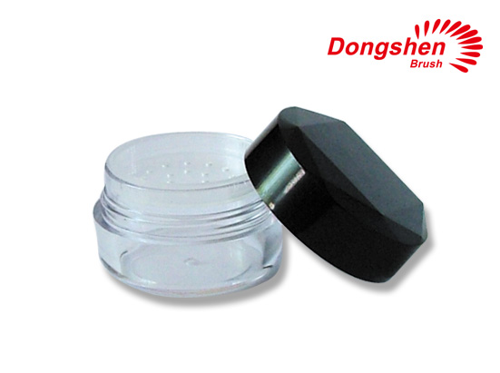Plastic powder container