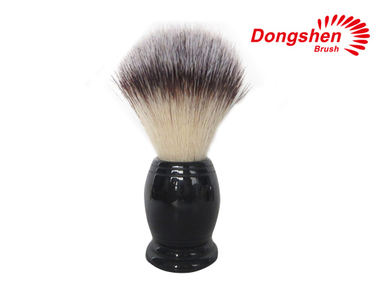 Resin Handle With Synthetic Hair Shaving Brush