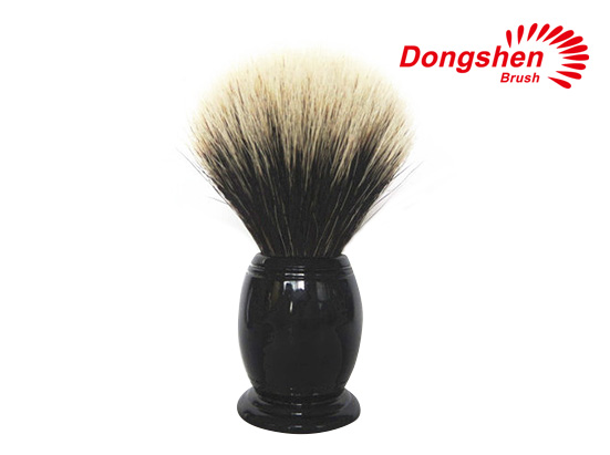 Resin Handle With Two Band Badger Hair Shaving Brush
