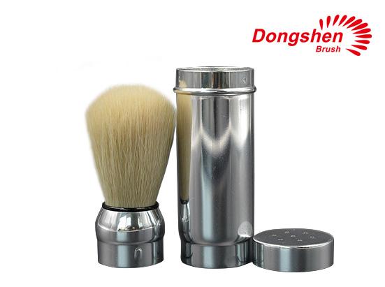Metal Handle With Boar Bristle Hair Shaving Brush