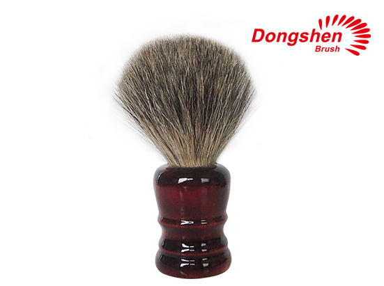 Wood Handle With Pure Badger Hair Shaving Brush