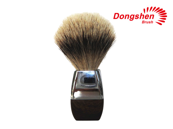 Metal handle good quality shaving brush