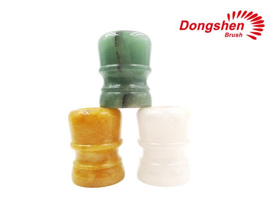 Colorful Stone Material Shaving Brush Handles