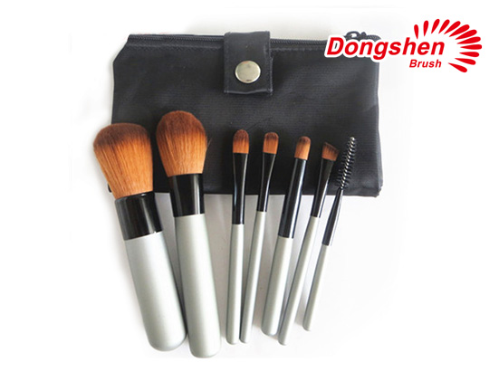 7pcs synthetic hair Cosmetic brush set