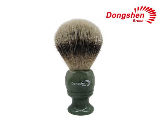 New Resin Handle With Silvertip Badger Hair Shaving Brush