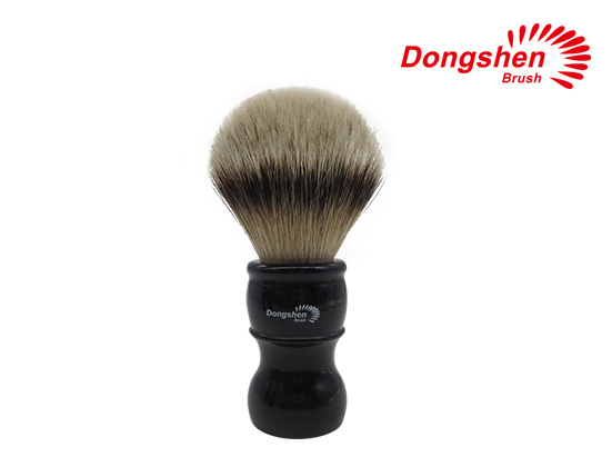 Big Size Resin Handle With Silvertip Badger Hair Shaving Brush