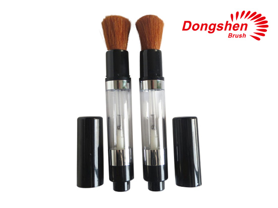 High quality goat hair pump powder brush